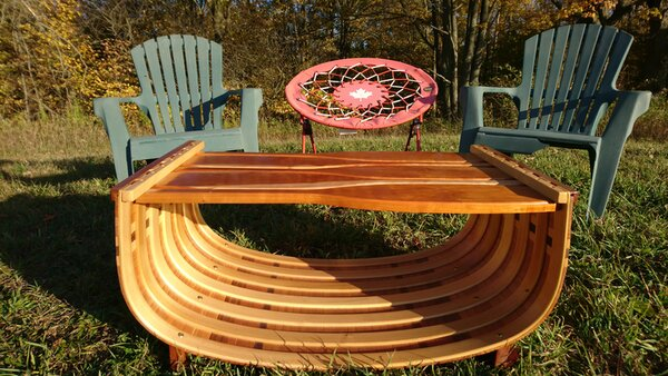 Paddle Top Coffee Table